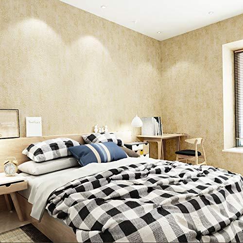 yhyxll Amerikanische Retro- gesprenkelte Tapetenvliestapete Moderne unbedeutende dekorative Tapete 3 des Wohnzimmerschlafzimmers Fernsehhintergrundes (Trolley Safari)