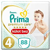 Prima Premium Care Külot Bebek Bezi 4 Beden Maxi