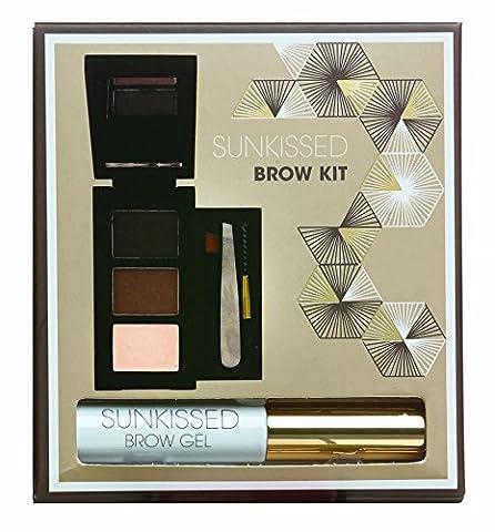 RAINBOW COSMETICS Kit Makeup Augenbrauen Brow Kit - SunKissed, 1er