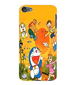 ColourCraft Cartoons Design Back Case Cover for APPLE IPOD TOUCH 5