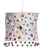 Lampenschirm aus handgeschöpften Loktapapier