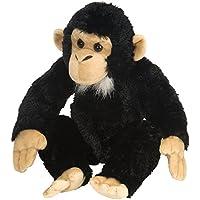 Wild Republic 16521 - Cuddlekins Plüsch Schimpanse, 30 cm