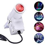 Top-Uking LED Pinspot Licht DMX512 30W RGBW für die Party Disco Bar Geburtstagsset Hochzeit Startseite Party Halloween Weihnachten(30W weiß)