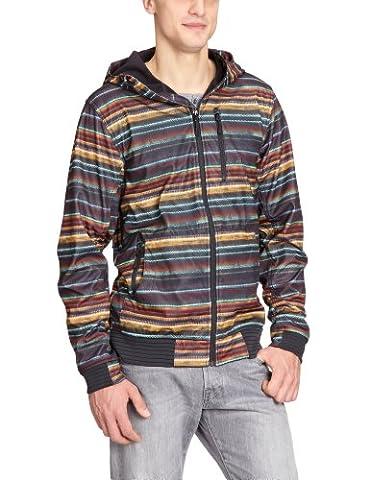 Rip Curl Veste softshell à capuche pour homme Multicolore Multico Medium