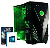 VIBOX Standard 3XL Gaming PC Ordenador de sobremesa con War Thunder Cupón de juego, Windows 10 OS (3,8GHz AMD A8 Quad-Core Procesador, Radeon R7 Gráficos Chip, 32GB DDR3 1600MHz RAM, 2TB HDD)