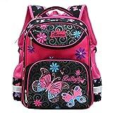 Kinder Schultaschen für Mädchen,Grundschule Mädchen Rucksack Kinder Schultaschen Kinder Rucksäcke Reisen Wandern Wasserdichte Outdoor Daypack
