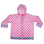Universal Textiles Childrens/Kids Polka Dot Design Hooded Showerproof Raincoat