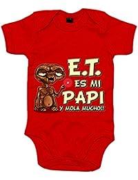 86b4b7f8f Body bebé E.T. este es mi papi y mola mucho ET El Extraterrestre