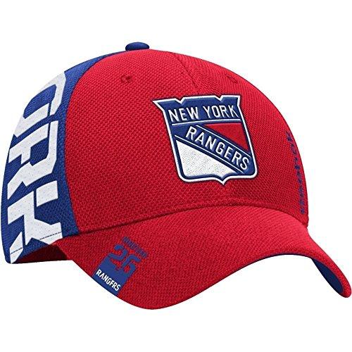 Reebok Men's 2016 NHL Draft Flex Fit Hat (XL/XXL, M671 New York Rangers) -