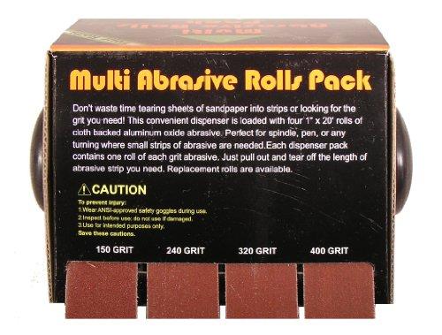Preisvergleich Produktbild Big Horn Corp. 22180 Abrasive 4 Roll Multi Pack by Big Horn
