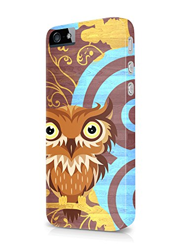 Colorful unique new owl 3D cover case design for iPhone 7Plus 2