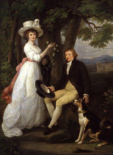 Angelica Kauffmann - Anna Maria Jenkinsand Thomas Jenkins - Medium - Matte Print