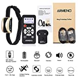 Best Dog Training Collars - Dog Training Collar, Armmi Waterproof Rechargeable 800 Yards Review