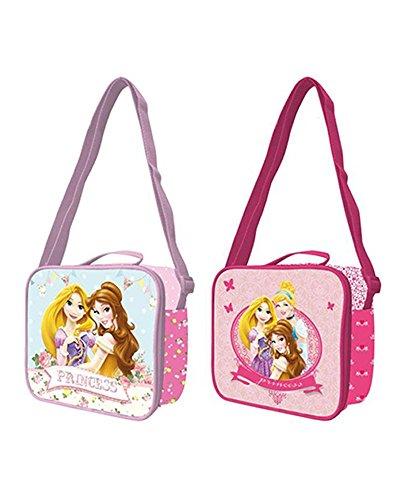 PRINCESAS Disney Prinzessinnen Bolsa portameriendas groß mit Griff, Mehrfarbig, 0