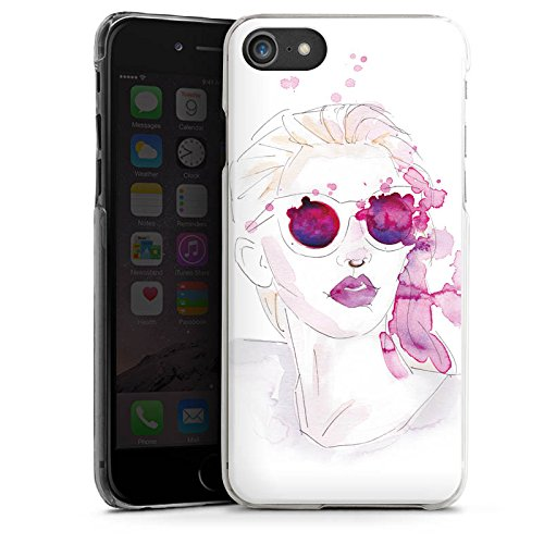 Apple iPhone X Silikon Hülle Case Schutzhülle Abstrakt Mädchen marenkruth Hard Case transparent