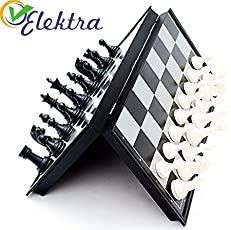 "Magnetic Chess with Folding Board, Educational Toys for Kids and Adults ( 10"" )"