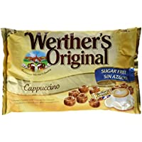 Werther's Original Caramelos de Crema de Café Sin Azúcar - 2 Paquetes de 1000 gr - Total: 2000 gr