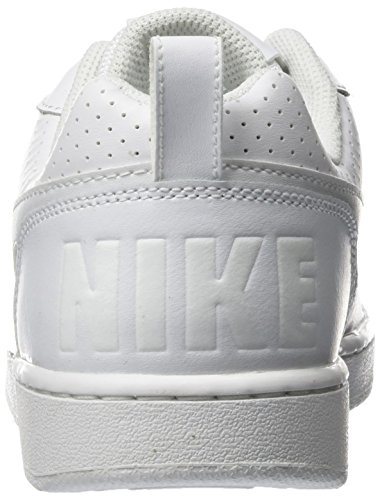 scarpe nike court borough low bianco