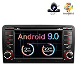Freeauto für Audi A3/S3 7 Zoll Android 8.1 Betriebssystem Quad Core Auto DVD Player mit Screen Mirroring Funktion & OBD2