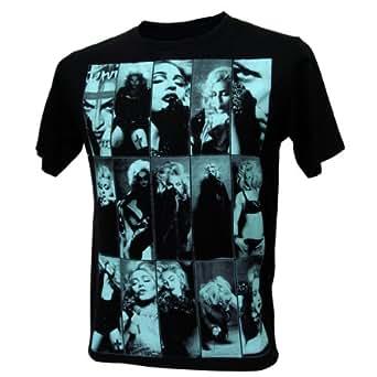 Immortal Men's Madonna MDNA Queen of Dance V1 Retro Shirt -  Black - 50