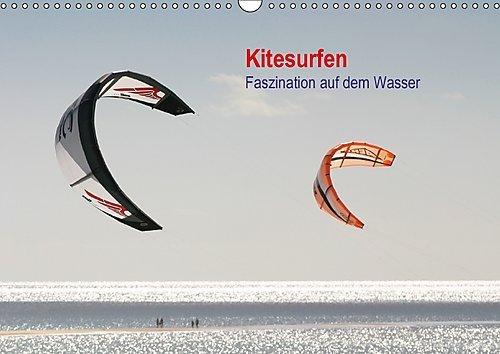 Preisvergleich Produktbild Kitesurfen – Faszination auf dem Wasser (Wandkalender 2017 DIN A3 quer): Bildkalender mit Fotos vom Kitesurfen (Monatskalender, 14 Seiten ) (CALVENDO Sport)