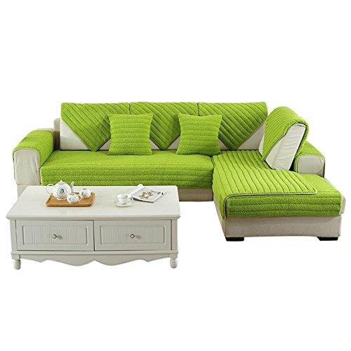 New day®-Inverno divano peluche cuscino antiscivolo divano moderno cuscino , 90*160cm