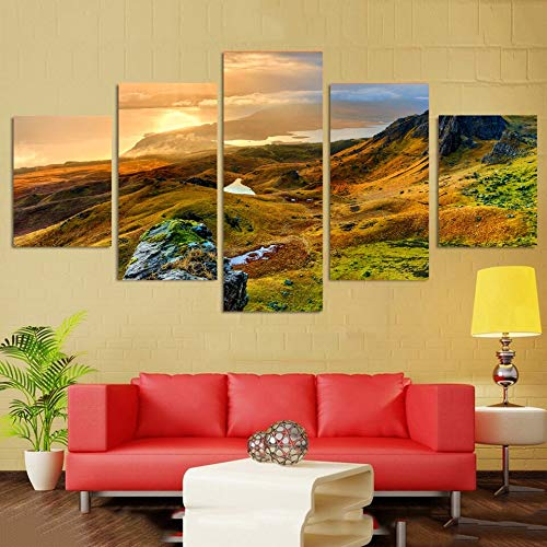 Mmwin Living Room Wall Art Pictures HD Impreso Decoración