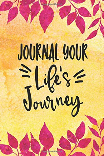 Journal Your Life's Journey: Journals To Write In For Women Cute Plain Blank Notebooks por Journal Your Life's Journey