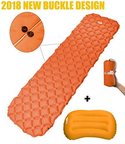 X-Lounger Inflatable Mat Pad wit...