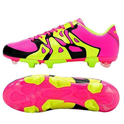 Mr. LQ - Adulti combattimento scarpe e formazione scarpe calcio giovanile Pink