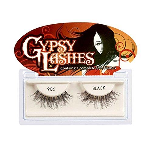 (6 Pack) GYPSY LASHES False Eyelashes - 906 Black