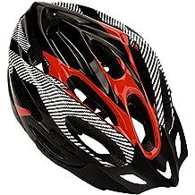 Dilwe Casco de Bicicleta, 3 Colores, Ligero Casco de Bicicleta de montaña con Correa