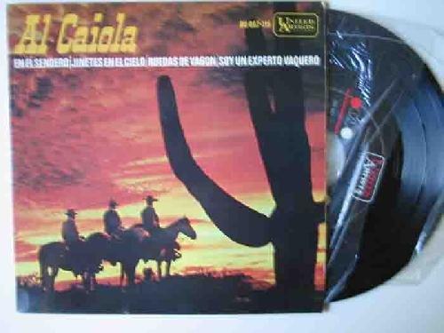 Antiguo Vinilo - Old Vinyl : AL CAIOLA : En el sendero; segunda mano  Se entrega en toda España