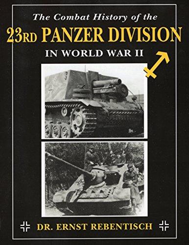 Combat History of the 23rd Panzer Division in World War II - 23 Einheiten