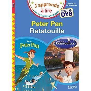 Peter Pan/Ratatouille - Lectures Disney Spécial DYS