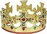 Gold Plastic Kings Crown