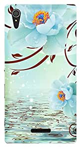 TrilMil Printed Designer Mobile Case Back Cover For Sony Xperia T3