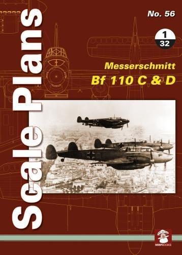 Scale Plans No. 56: Messerschmitt Bf 110 C & D 1/32 (Scale Pans)