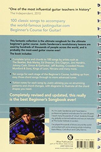 Justinguitar.com Beginner\'s Songbook - 2nd Edition (Spiral Bound ...