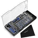 58 en 1 Kit Tournevis Magnétique avec 54 Embouts et Une Porte-embouts pour iPhone, Téléphones, Tablettes, PC MacBook et d'Autres Appareils Electroniques