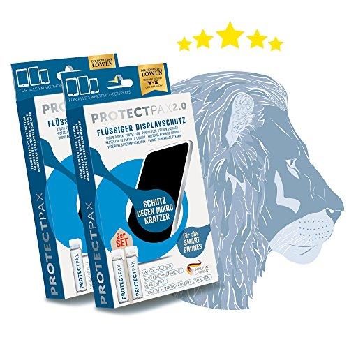 ProtectPax 2.0 Flüssiger Displayschutz Die Höhle Der Löwen Für Alle Apple Samsung Sony Huawei HTC LG Smartphones IPhone Schutzfolie Nano Panzerglasfolie Displayschutzfolie Panzerglas