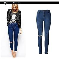 Jeans,WINWINTOM Donna Denim Skinny Stretch Matita Pantaloni Sottili Pantaloni Lunghi