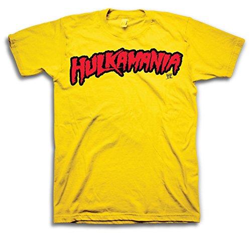 mania Men's T-shirt, gelb XXL (Leben Größe Hulk)