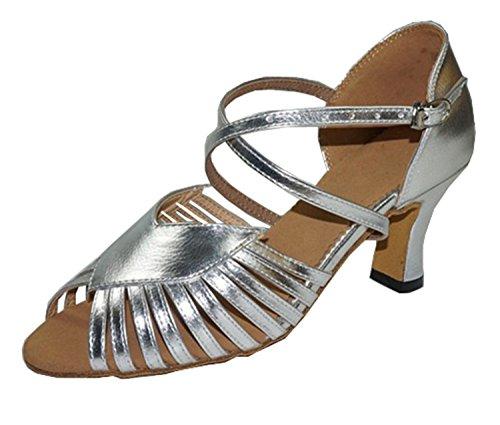Femme Fvqo7wbh Miyoopark De Salle 7cm Silver Heel Bal gBqfTyxw