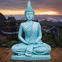 DAJIADS Figurillas Figurillas Estatuas Estatua Estatuilla Resina Azul Estatua De Buda En Tailandia El Budismo Hindú