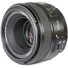 YONGNUO YN 50mm f1.8 Lente Objetivo (Apertura f/1.8) YN50mm Fotografía Fotográfico para Nikon DSLR Cámaras, AF Enfoque Automático de Gran Apertura + Meking Papel para Lente