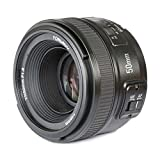 YONGNUO YN50MM F/1.8 Camera Lens For Nikon Supports AF/MF,LV With Meking Lens paper