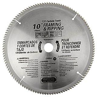 ATE Pro. USA 33086120Zähne Hartmetall Klinge, 25,4cm