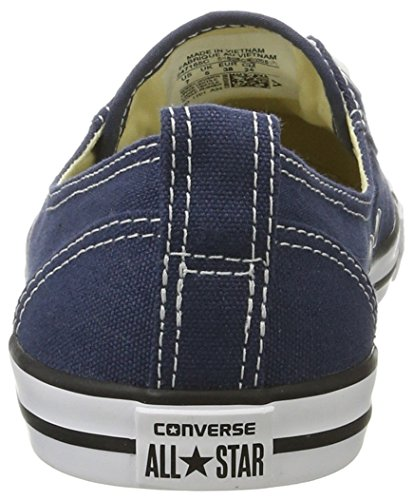 Converse Unisex-Erwachsene All Star Ballet Lace Sneaker, Blau (Navy), 39 EU - 2