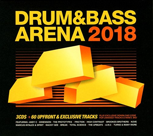 Drum & Bass Arena 2018 (3cd+Mp3)